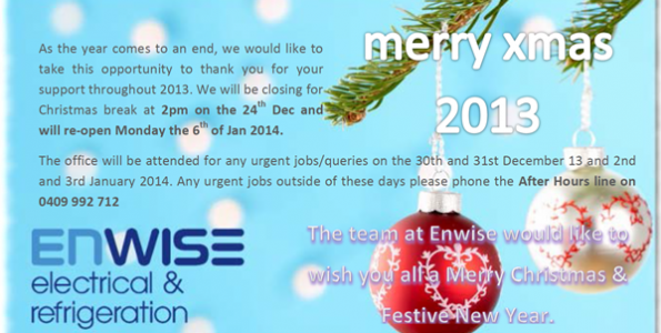 Happy Holidays from Enwise